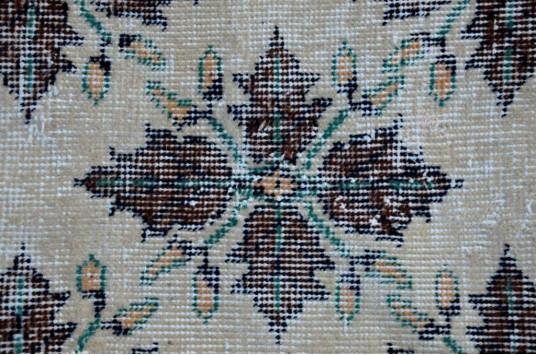"Natural Oushak Turkish Rug For Home Decor 6'2"" X 3'8,1"""