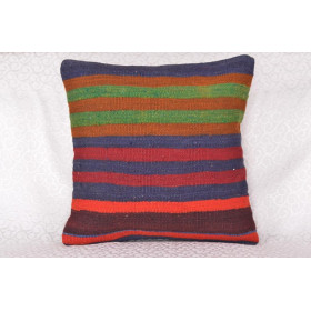 "16 X 16 Handmade  Vintage Pillow 1'3,7"" X 1'3,7"""